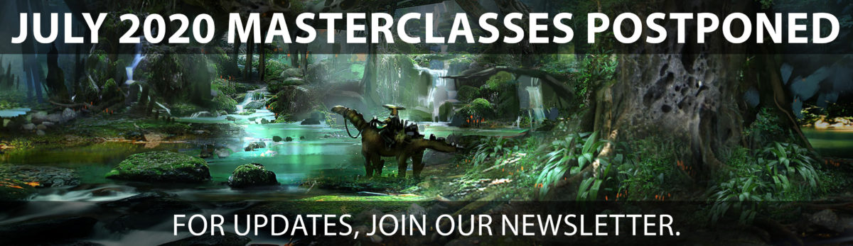 Masterclasses Postponed Banner Large