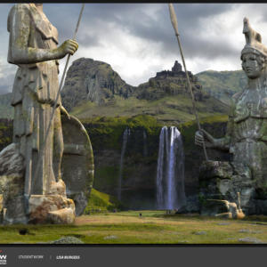 Burgess Lisa Scme1402 Mattepainting And Vfx Wk1 7 3
