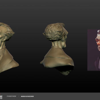 Margo Debeckker Head Sculpt Scme1400 Week1
